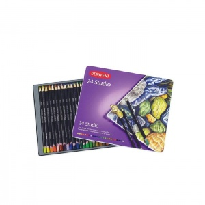 Derwent 24 Studio Colored Pencils Set