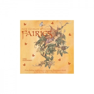 how to draw and paint fairies, linda ravenscroft