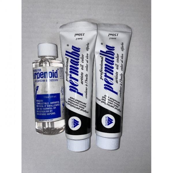 Permalba White & Turpenoid Value Set
