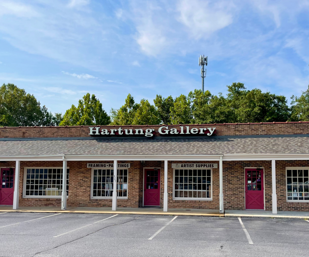 Hartung Gallery storefront