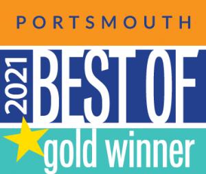 Portsmouth 2021 Best of gold winner